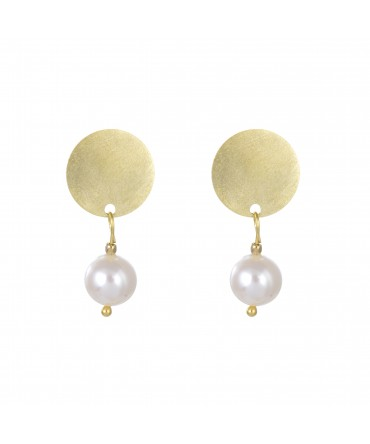 LINK SMALL EARRINGS WITH PEARLS