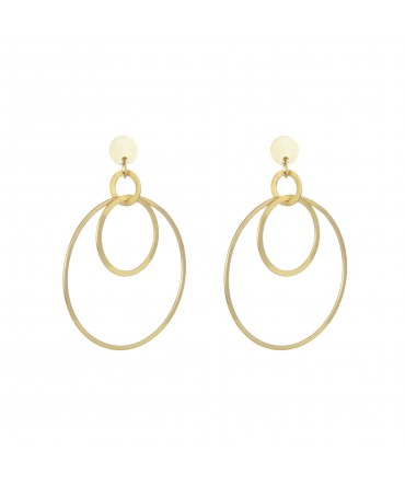 LINK GOLD PLATED CIRCLES